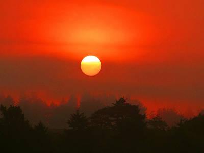 Photograph - Eureka Sunrise by Monique Morin Matson