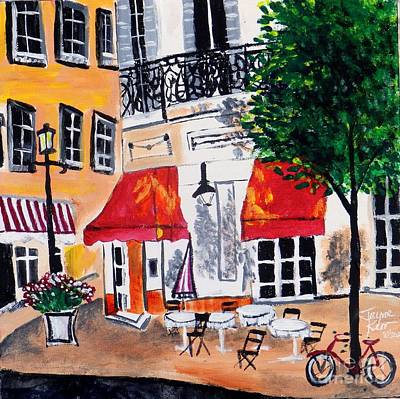 Painting - Euro Cafe by Jayne Kerr