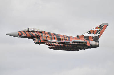 Photograph - Eurofighter Ef2000 'tiger' by Tim Beach
