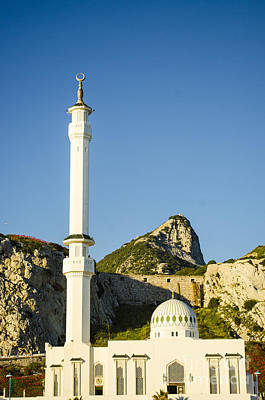 Photograph - Europa Point Mosque 1 by Deborah Smolinske