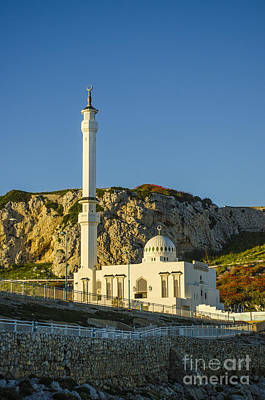 Photograph - Europa Point Mosque 2 by Deborah Smolinske