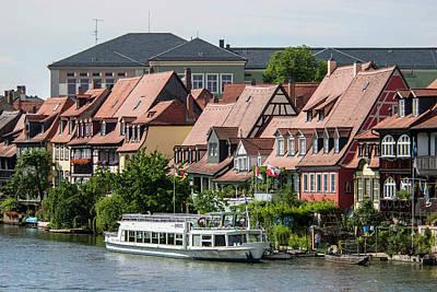 Bamberg Photograph - Europe, Germany, Bamberg, Fishermens' by Jim Engelbrecht