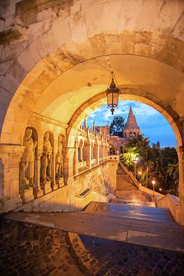 Buda Photograph - Europe, Hungary, Budapest, Buda by Jim Engelbrecht