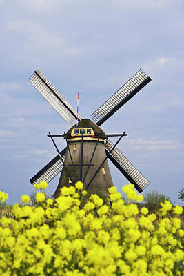 Europe, Netherlands, Kinderdijk Art Print by Jaynes Gallery