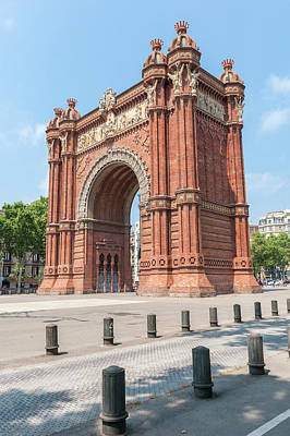 Europe, Spain, Barcelona, Arc De Triomf Art Print by Lisa S. Engelbrecht