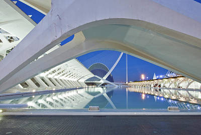 Europe, Spain, Valencia, City Of Arts Art Print by Rob Tilley