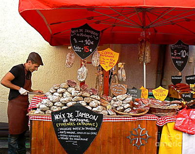 Cathar Country Photograph - A European Butcher by France  Art