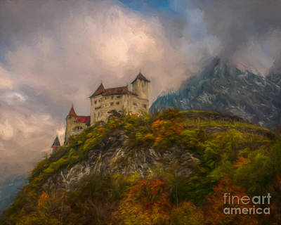 Science Collection - European Castle by P Three Artworks