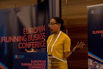 European Running Business Conference Art Print by Ulrich Roth