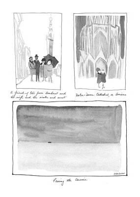 European Tour Art Print by James Stevenson