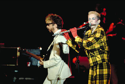 Eurythmics Art Print by Chris Deutsch