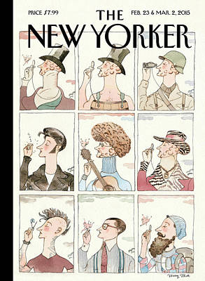 Painting - Eustace Tilley by Barry Blitt