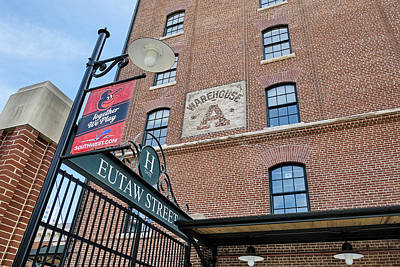 Photograph - Eutaw Street by Susan Candelario