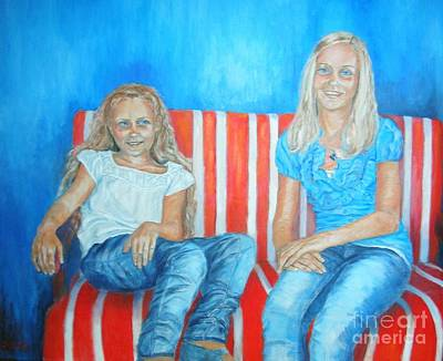 Eva And Antonia Art Print