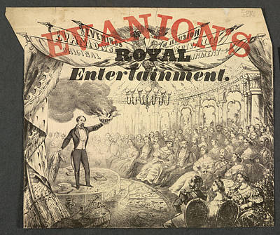 Evanion's Royal Entertainment Art Print by British Library