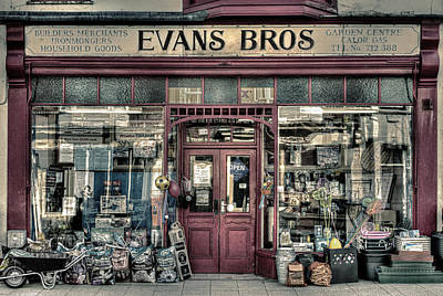Photograph - Evans Bros Hardware Emporium by Mal Bray