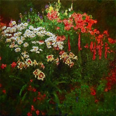 Evanston Garden Art Print by Michael Durst