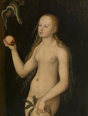 Eve Painting - Eve by Lucas Cranach