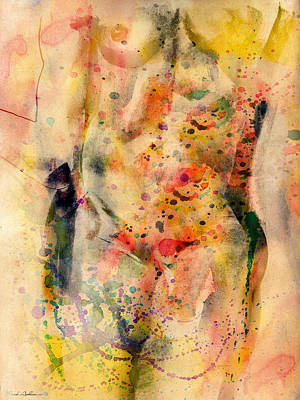 Female Nude Digital Art - eve by Mark Ashkenazi