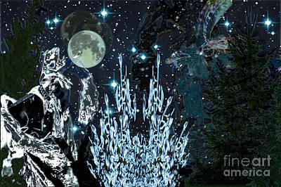 Digital Art - Eve Of Memory by Asegia