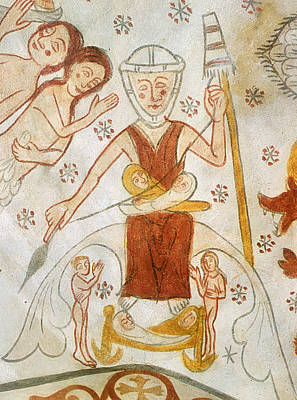 Painting - Eve Spinning, C1350 by Granger