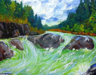 Painting - Even Flow by Rick Carbonell
