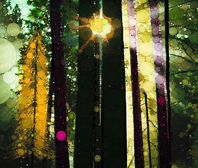The Trees Digital Art - Even Now by Steven Boland