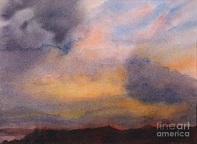 Evening Approaching 2 Art Print by Gwen Nichols