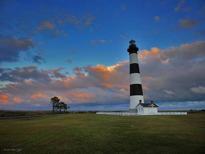 Evening At Bodie Island Lighthouse Art Print by Matt Taylor