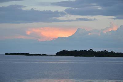 Photograph - Evening At Cedar Key Florida by rd Erickson