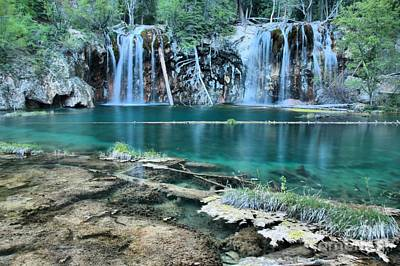 Photograph - Evening At Hanging Lake by Adam Jewell
