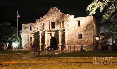 Evening At The Alamo Original by Paul Anderson