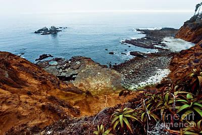 Evening At The Laguna Beach Original by Sviatlana Kandybovich