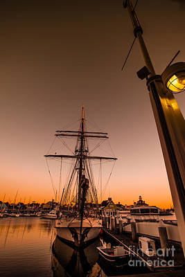 Photograph - Evening At The Marina by Sviatlana Kandybovich