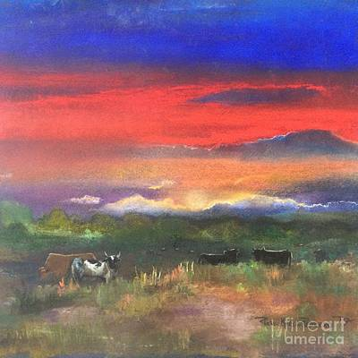 Painting - Evening By The Horns  by Robin Maria Pedrero