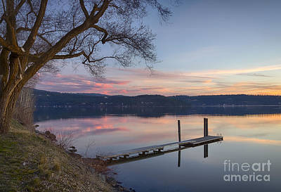 Photograph - Evening Calm by Idaho Scenic Images Linda Lantzy