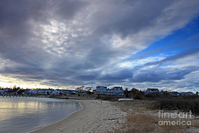Photograph - Evening Clouds Edgartown by Butch Lombardi