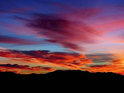 Photograph - Evening Desert Skies by Mistys DesertSerenity
