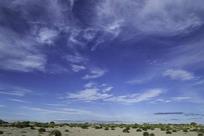 Photograph - Evening Desert Sky by Cathie Richardson