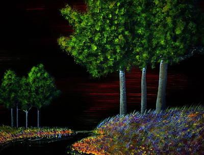 Evening Dream Art Print by Tim Townsend