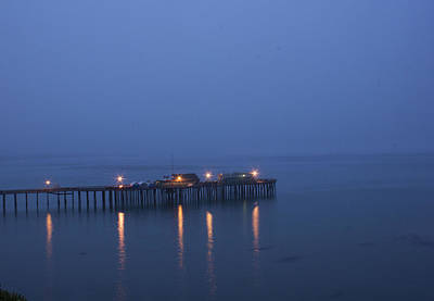 Evening Enters Capitola Art Print