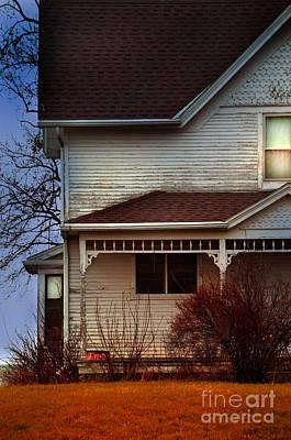 Photograph - Evening Farmhouse by Jill Battaglia