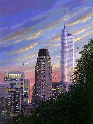 Painting - Evening Flight II by Doug Kreuger