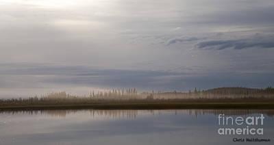 Photograph - Evening Fog by Chris Heitstuman