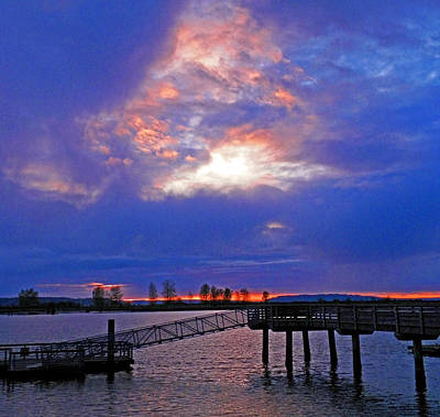 Photograph - Evening Gift by Seth Shotwell