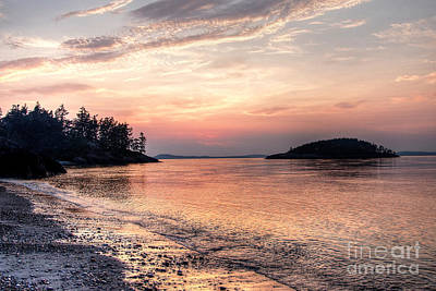 Photograph - Evening Glow On Deception Pass by Sarah Schroder