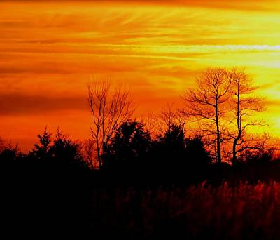 Photograph - Evening Glow Sunset by Deena Stoddard