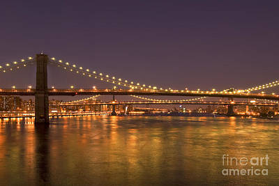 Evening II New York City Usa Art Print by Sabine Jacobs