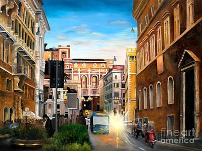 Evening In Rome Original