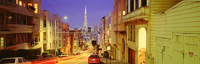 Evening In San Francisco, San Art Print